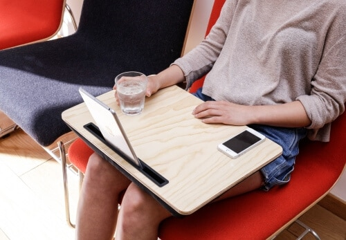 Plateau coussin pour tablette iBed high tech concept store à Blois 41000 Loir et Cher