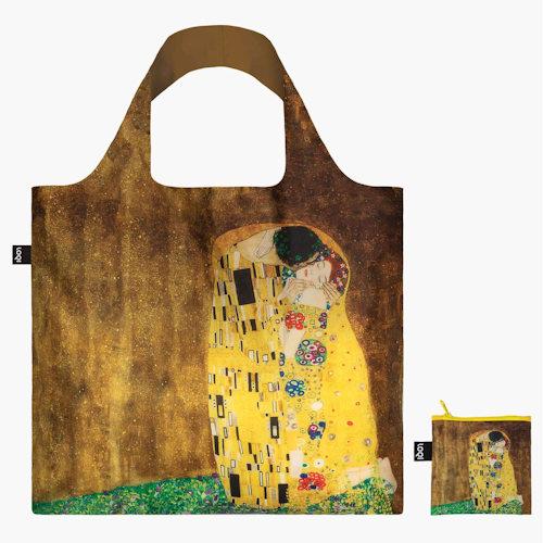 La célébration sentimentale de l'amour. La traduction sensuelle de la féminité. La glorieuse formation des formes. Découvrez la lumineuse période dorée de Gustav Klimt avec ces poches à fermeture éclair. Un érotisme évident. Fascination féminine. Desseins divins. L'artiste Gustav Klimt est né en Autriche en 1862. Il est surtout connu pour ses peintures lumineuses, sensuelles, proches de la tapisserie, dont la plupart représentent des femmes ou des hommes et des femmes ensemble.