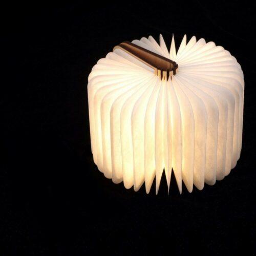 lampe livre en bois Halo luminaires concept store à Blois 41